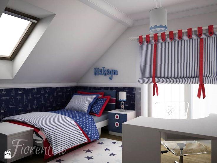 Fiorentino 588 meble dla chłopca - Projekt w stylu marynistycznym. - zdjęcie od Fiorentino - Pokój dziecka - Styl Nowoczesny - Fiorentino