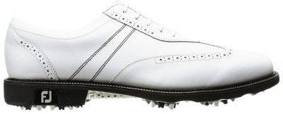 Los zapatos de golf Footjoy Icon están fabricados con piel de becerro, la mejor piel del calzado en el mundo.
