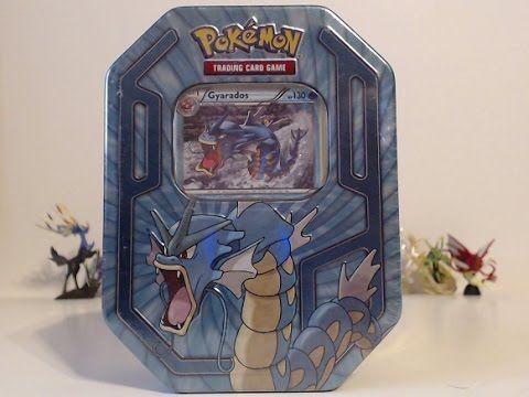 Opening A Pokemon Gyarados Tin!