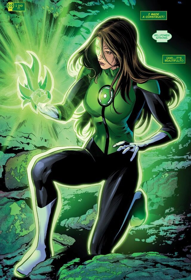 Green Lantern Jessica Cruz in Green Lanterns # 6 - Art by Will Conrad & Jack Herbert
