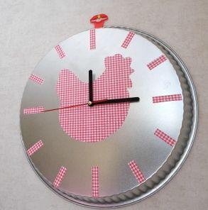 Relooker une horloge pour la déco de la cuisine - Make a clock with a dish - Pièce par pièce - Pure Sweet Home