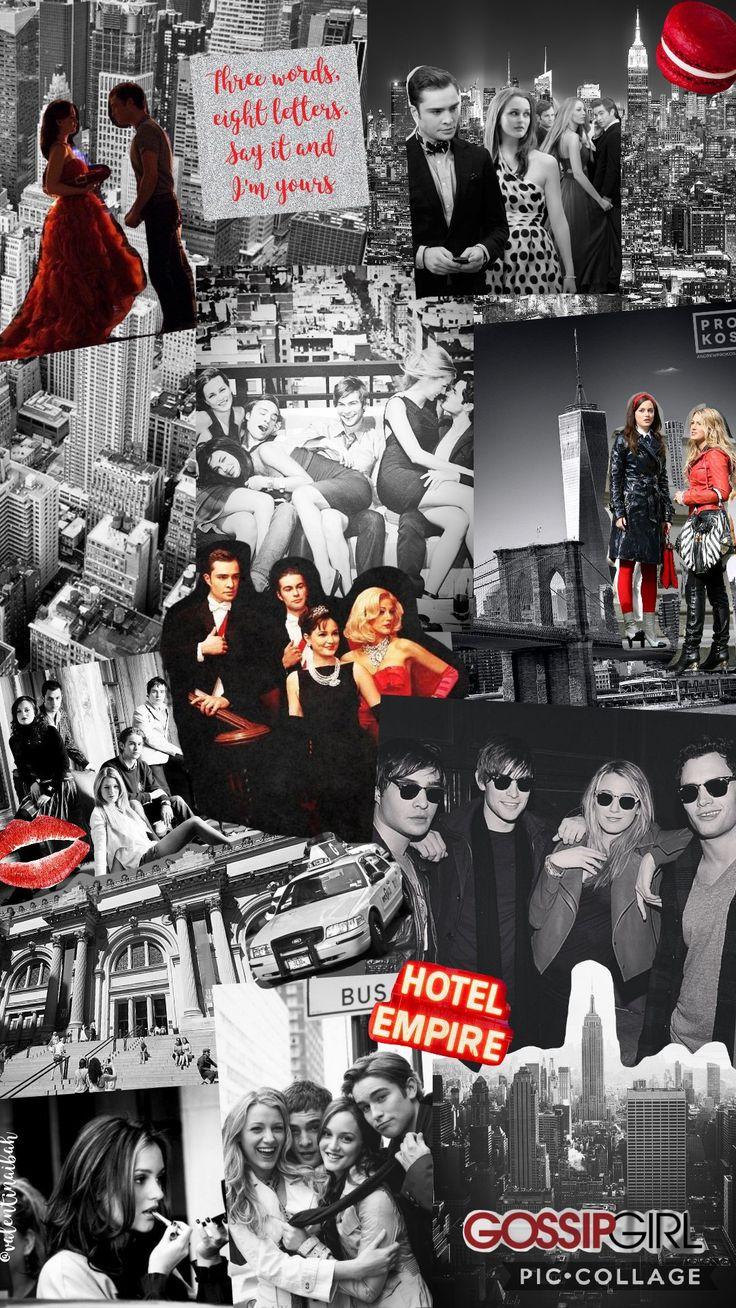 Gossip Girl Collage ♡