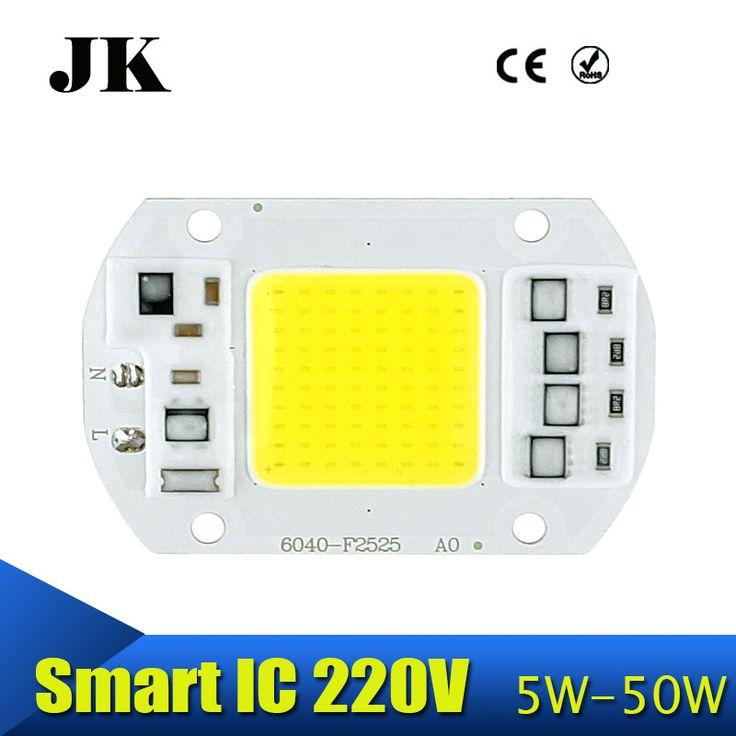 Pintar IC TONGKOL DIPIMPIN Chip 5 W 20 W 30 W 50 W 220 V Input tidak Driver Fit Untuk DIY Dingin Hangat Putih Untuk Sorotan Luar Ruangan lampu sorot