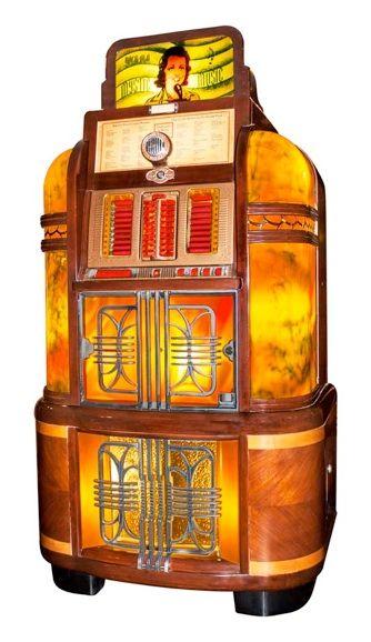 National Jukebox - Antique 1940 Rock-Ola Mystic Music
