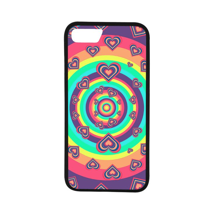 """Loving the Rainbow Rubber Case for iPhone 7 (4.7"""")"""