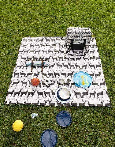 Kissing Stags Picnic Blanket By Anorak