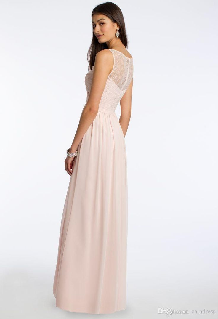 The 25 best teenage bridesmaid dresses ideas on pinterest blush 2016 cheap long chiffon country bridesmaid dresses pink lace convertible style junior bridesmaid mixed style beach ombrellifo Gallery