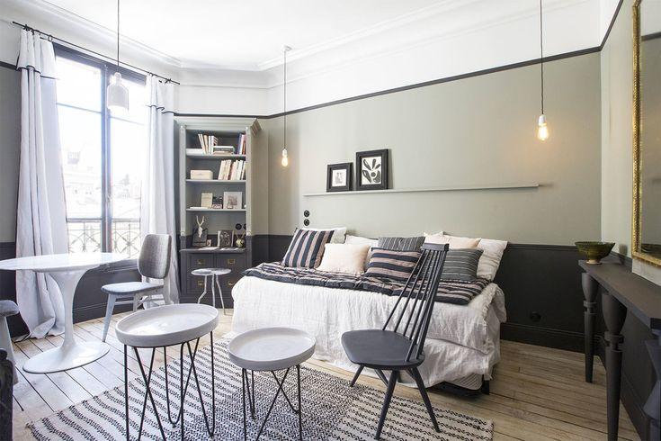 Superbe studio meublé de 19 m2, situé Rue Lentonnet quartier Madeleine, dans le 9ème arrondissement de Paris. Ref 12723