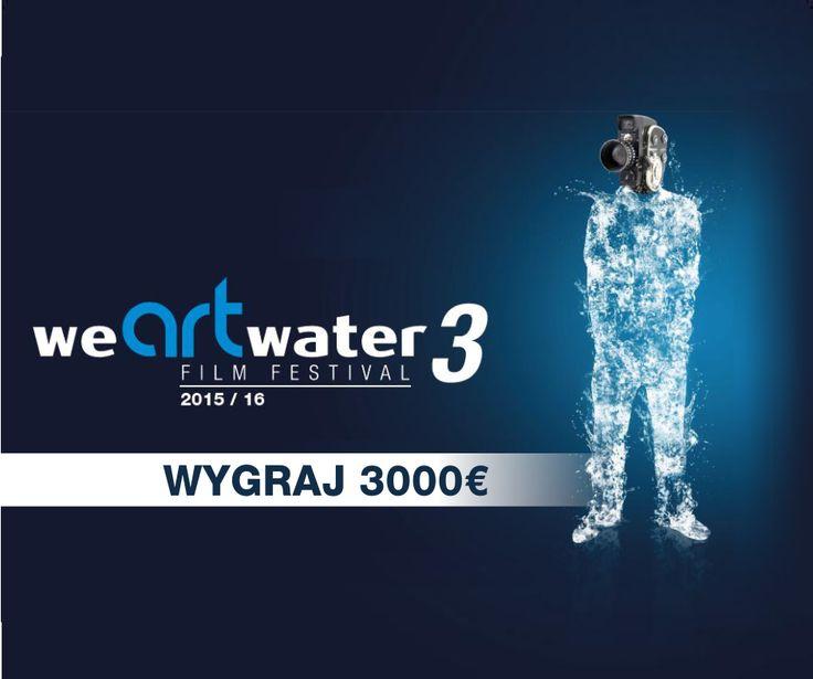 Zostań częścią międzynarodowej inicjatywy, do 26 lutego zarejestruj się na stronie http://www.wearewater.org/en i prześlij swoją propozycję filmu, dokumentu albo animacji. Na zwycięzców każdej kategorii czekają nagrody o wartości nawet 3.000 € :)