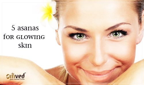 Glowing skin with Yoga
