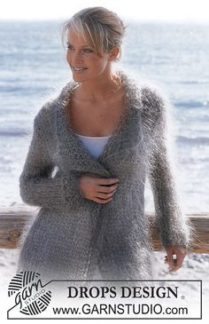 Ravelry: 82-25 Cardigan pattern by DROPS design
