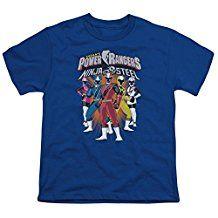 Power Rangers Team Lineup Kids T-Shirt