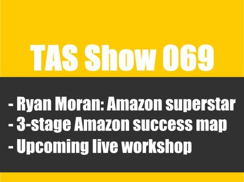 How To Generate 1 Million in 12 Months On Amazon – with Ryan Moran #TheAmazingSeller