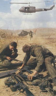US soldiers, Vietnam