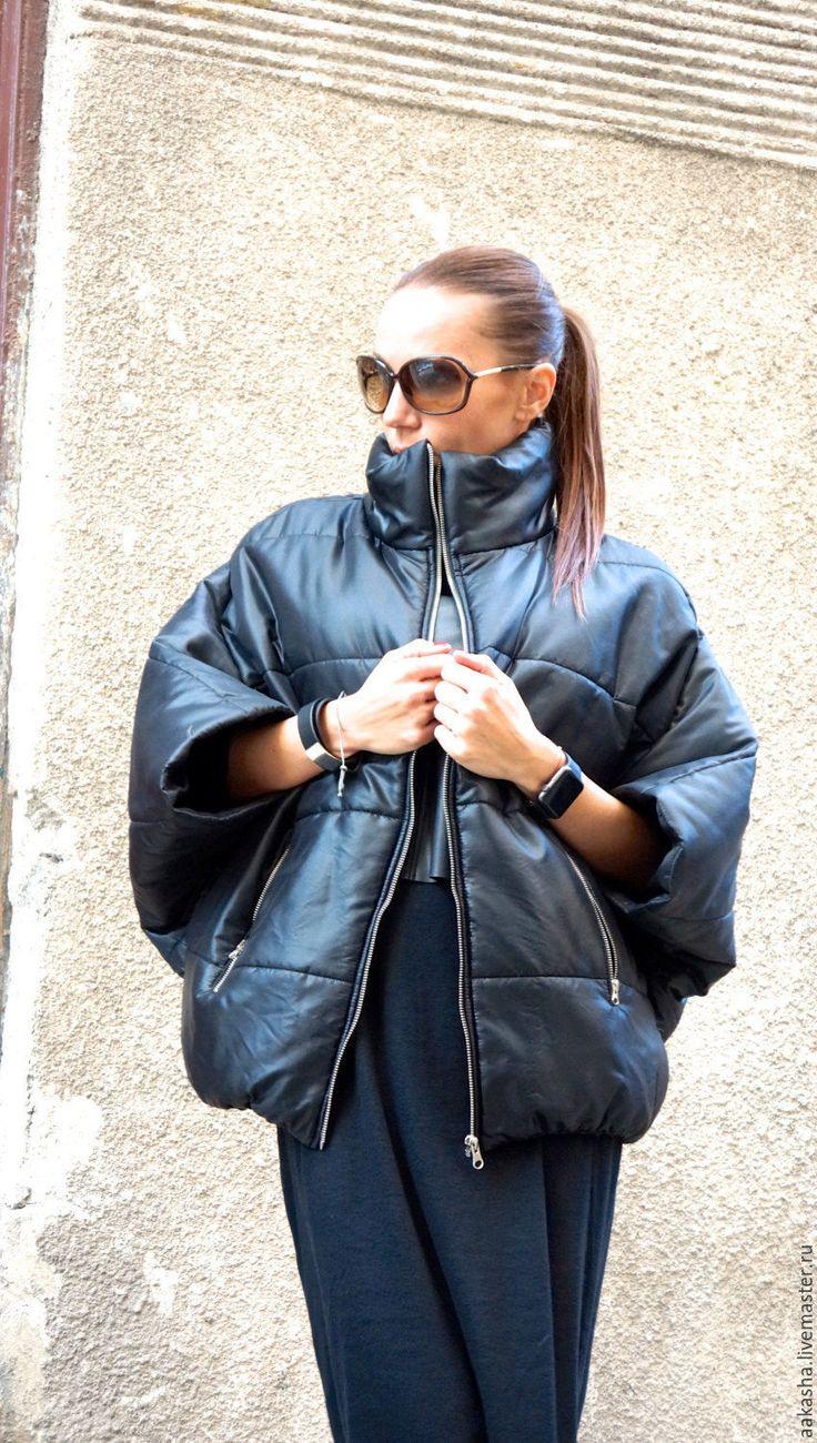 Купить Куртка Black Midi - черный, куртка, женская куртка, теплая куртка, женская одежда