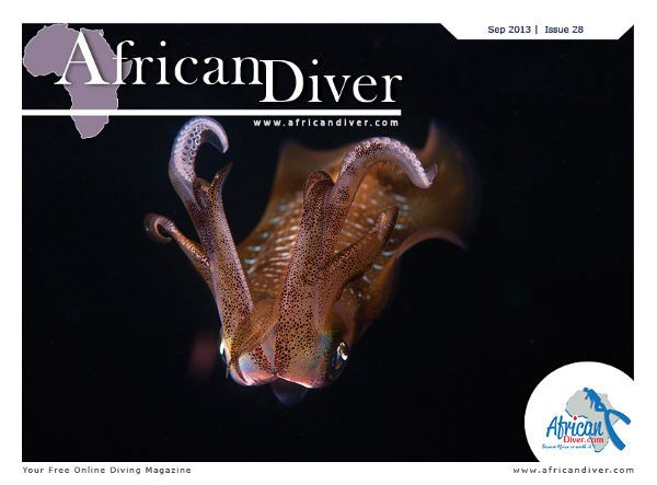 Issue 28: Download for free at http://africandiver.com/index.php/magazine/download-issues