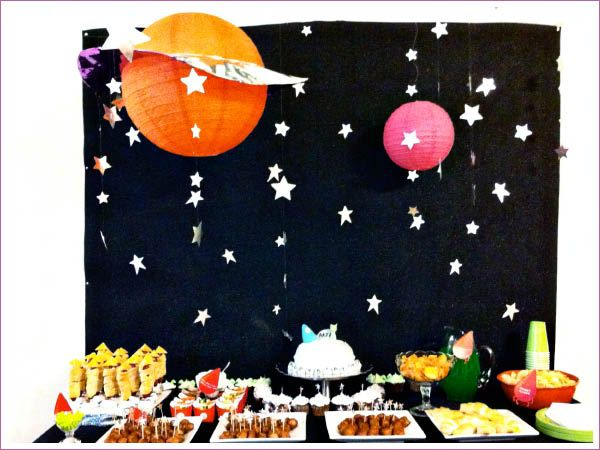 Space Themed Birthday Party Food Ideas