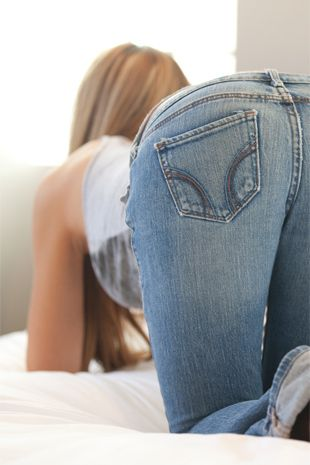 Cassidy Cole - Tight Blue Jeans