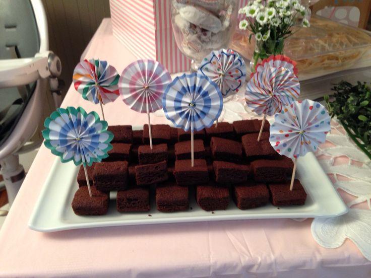 Mini Brownies fan decoration