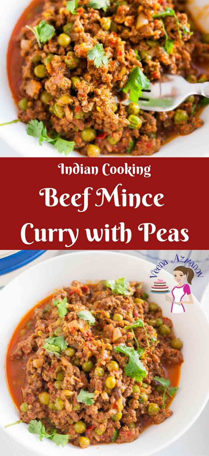 This Beef Mince Curry Is An Indian Classic Made With Peas Very Similar To A Chili With Mince Meat And Beans But Minced Meat Recipe Minced Beef Recipes Recipes