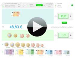 Une application flash sur la monnaie (en Euro)