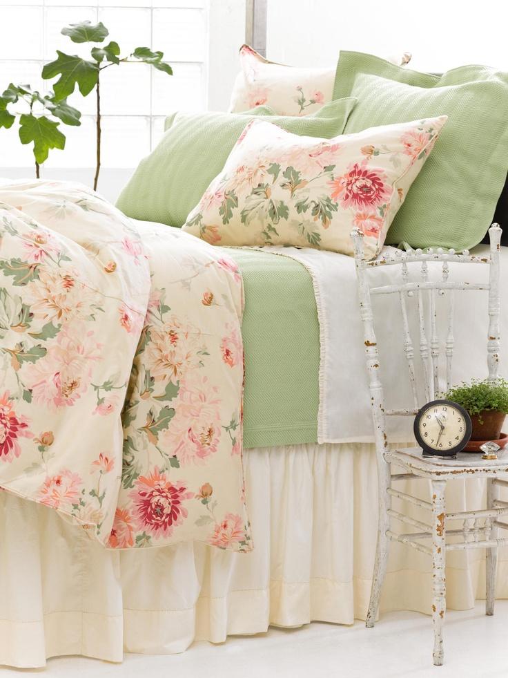 Lady Apricot Herringbone Bed | Pine Cone Hill