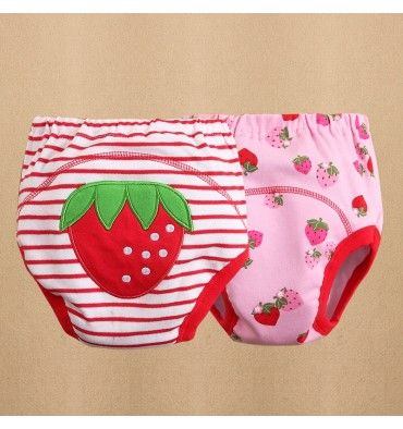 Mom and Bab Potty Training Pants - Strawberry