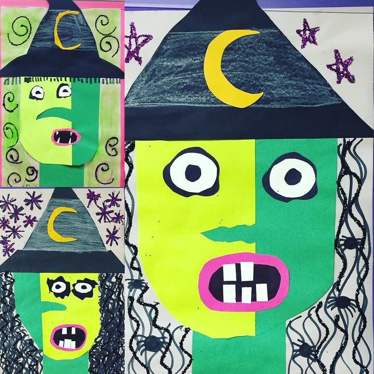 Follow Sharpies, paint, and paper! Oh my! on Instagram: Picasso witches!