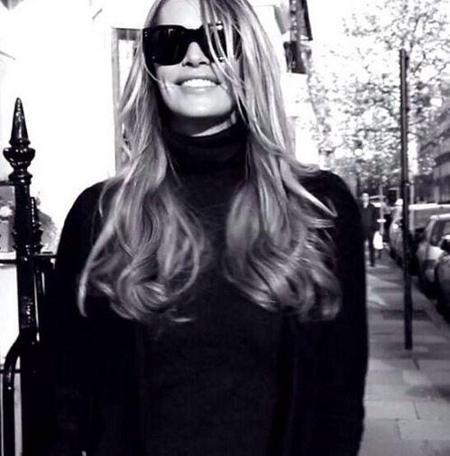 Le mannequin Elle Macpherson