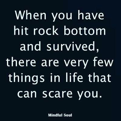 25 best rock bottom quotes on pinterest rock bottom
