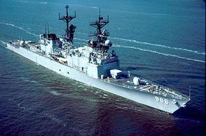 USS Harry W. Hill (DD-986)--Spruance Class Destroyer