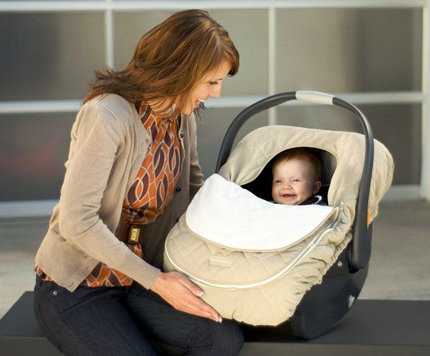 JJ Cole Car Seat Cover | 27 Underrated Parenting Products That Actually Work