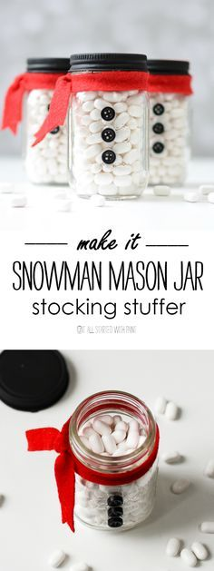 Mini Mason Jar Stocking Stuffer
