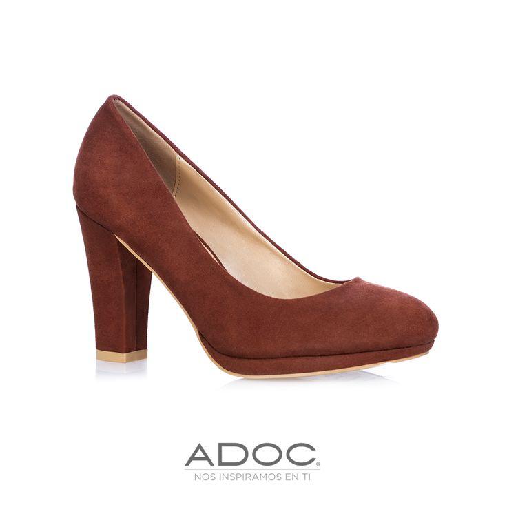 Zapatos Tylor de ADOC disponibles en color café, vino, negro y azul.