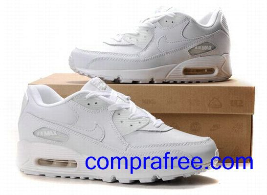 Comprar baratos mujer Nike Air Max 90 Zapatillas (color:blanco) en linea en Espana.