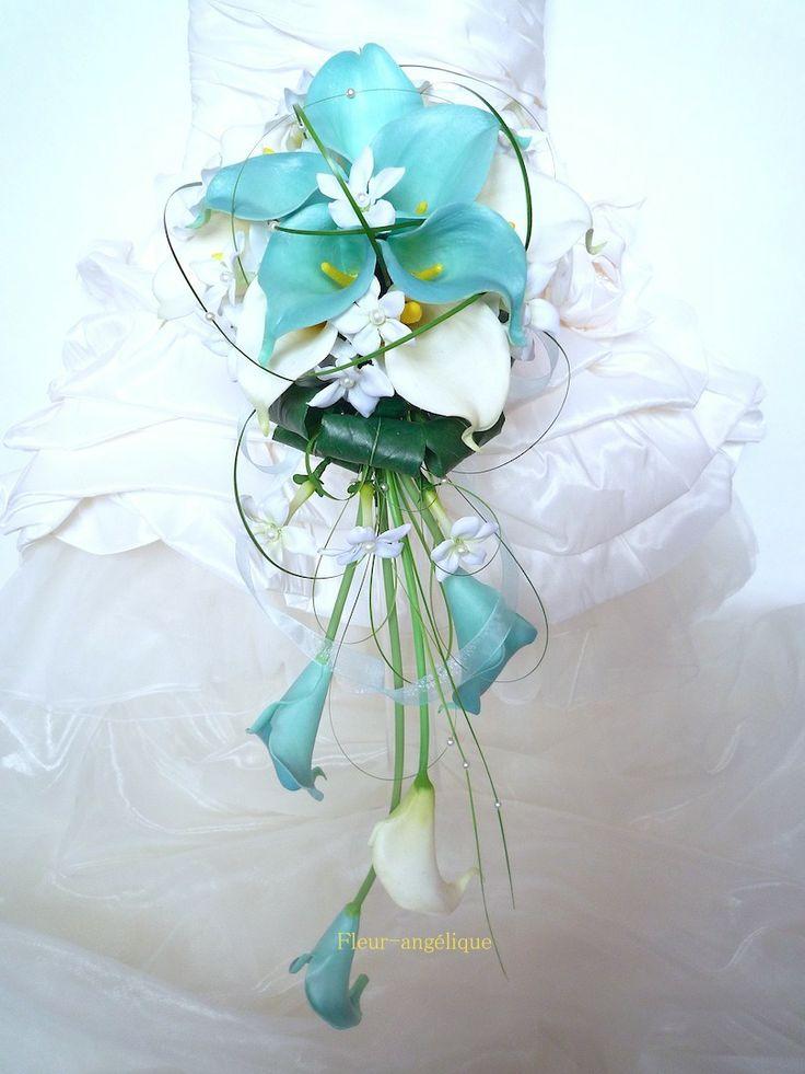 Les 25 Meilleures Id Es Concernant Bouquets De Mariage Turquoise Sur Pinterest Fleurs De
