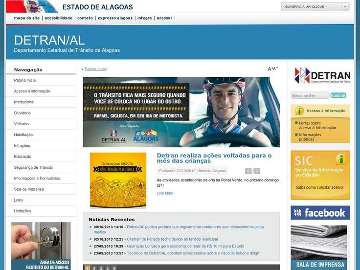 www.detran.al.gov.br Entrar Agora - Pergunte Tecnologia