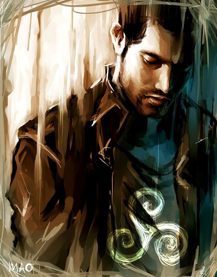 speedpainting_Derek Hale by ~AkiMao on deviantART (Derek Hale, Tyler Hoechlin…