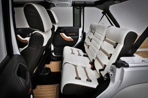 2014 White Jeep Wrangler Interior