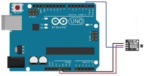 hall effect sensor with arduino circuit and code