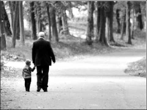 Un vecchio e un bambino