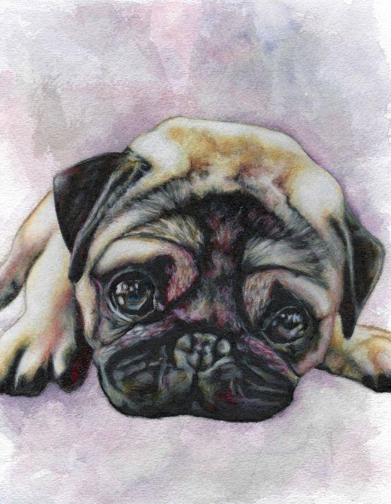 Pug print - Want!
