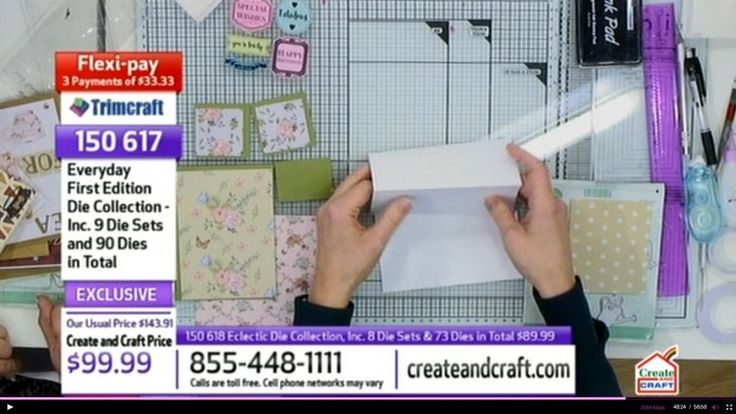 How to make an easel card. Garden theme step by step tutorial. Demonstrated on Create & Craft USA.