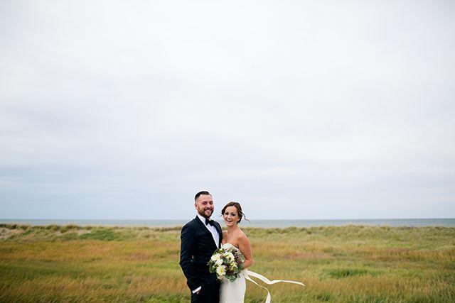 Nature inspired rustic barn wedding in Sackville, NB