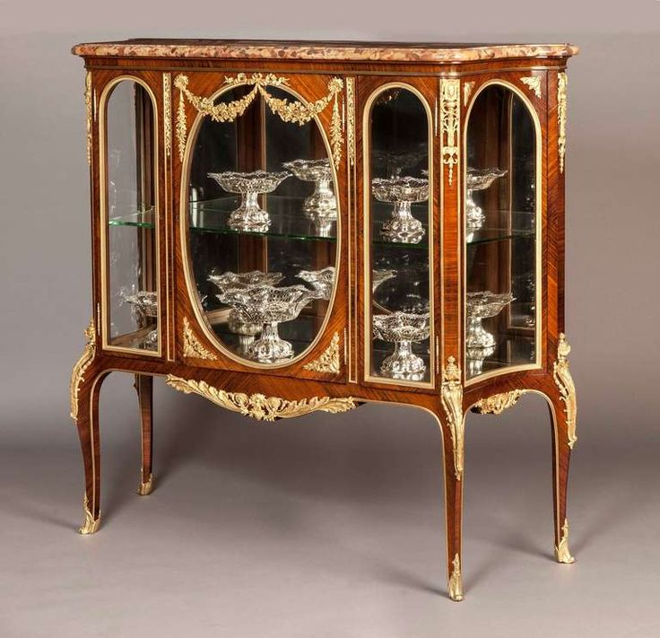 A Fine French Transitional Vitrine Cabinet In the Manner of Fran  ois Linke    From   Classic FurnitureLuxury FurnitureAntique. 273 best Antique Furniture images on Pinterest   Antique furniture