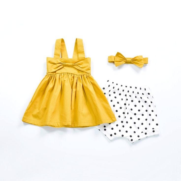 New Baby Girl Dress Suspenders A Line Dress Kids Clothing Children's Princess Party Dresses