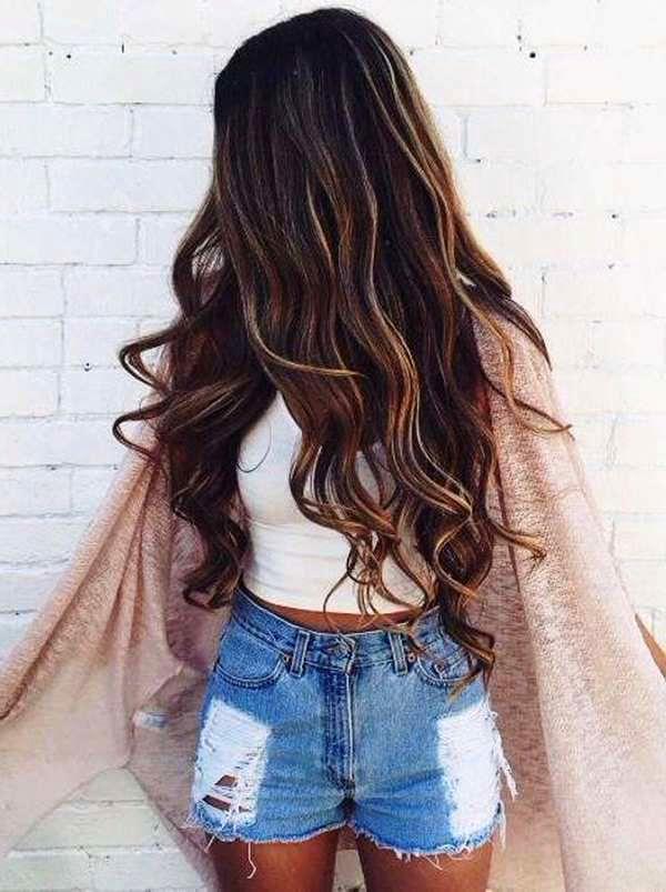 big wave hairstyles - XL İri Dalgalı Saç Modelleri