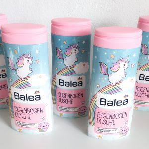 Limitierte Balea Einhorn Regenbogen Dusche von dm Drogerie | Cheana - Beauty & Style Blog