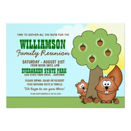 Best Family Reunion Invitation Images On   Family