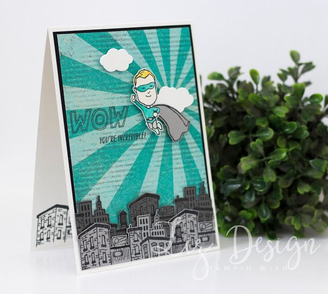 Stampin Up Everyday Hero Card